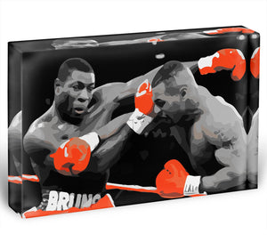 Frank Bruno Mike Tyson Acrylic Block - Canvas Art Rocks - 1