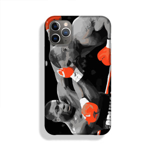 Frank Bruno Mike Tyson Phone Case iPhone 11 Pro Max