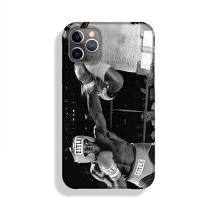 Frank Bruno sparring Phone Case iPhone 11 Pro Max