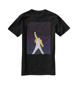 Freddie Mercury Iconic T-Shirt - Canvas Art Rocks - 1