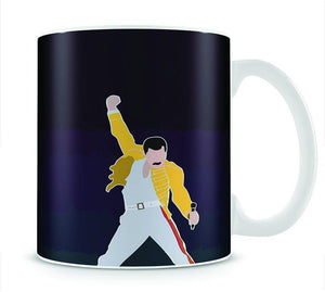 Freddie Mercury Iconic Mug - Canvas Art Rocks - 1
