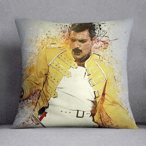 Freddie Mercury Splatter Cushion