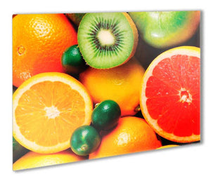 Citrus Fruits Metal Print - Canvas Art Rocks - 1