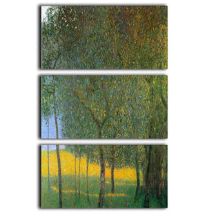 Fruit Trees by Klimt 3 Split Panel Canvas Print - Canvas Art Rocks - 1