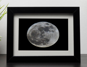 Full Moon Framed Print - Canvas Art Rocks - 1
