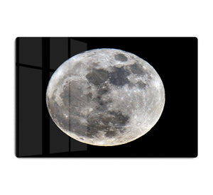 Full Moon HD Metal Print - Canvas Art Rocks - 1