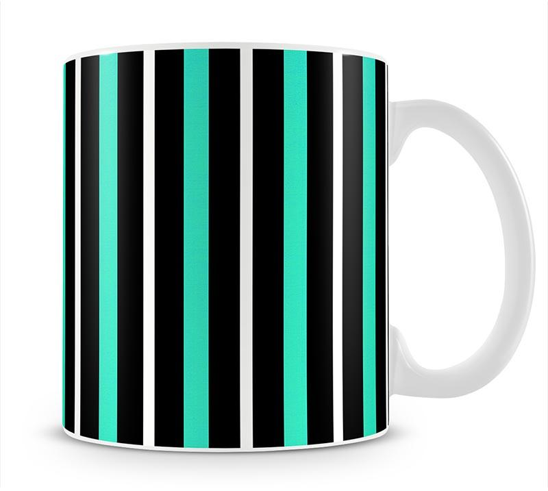 Funky Stripes FS1 Mug - Canvas Art Rocks - 1