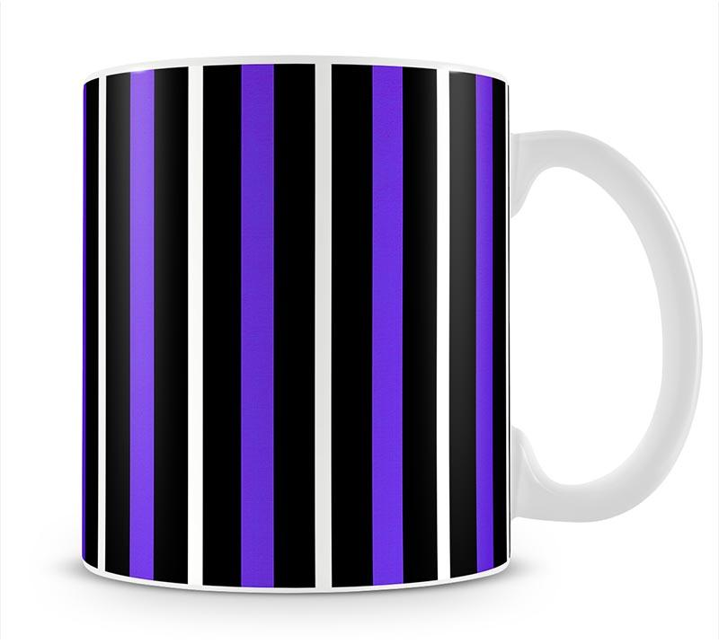 Funky Stripes FS3 Mug - Canvas Art Rocks - 1