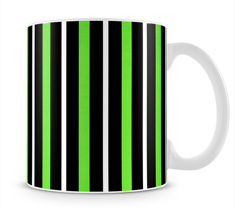 Funky Stripes FS5 Mug - Canvas Art Rocks - 1