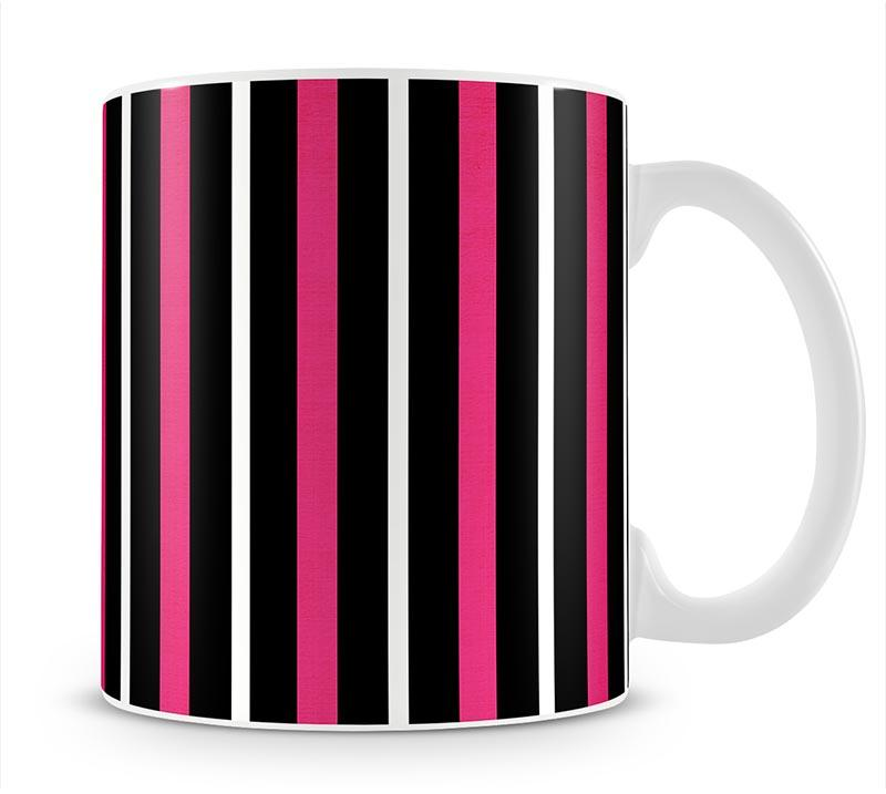 Funky Stripes FS Mug - Canvas Art Rocks - 1