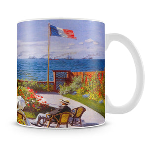 Garden at Sainte Adresse 2 by Monet Mug - Canvas Art Rocks - 4