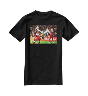 Gareth Bale Overhead Kick T-Shirt - Canvas Art Rocks - 1