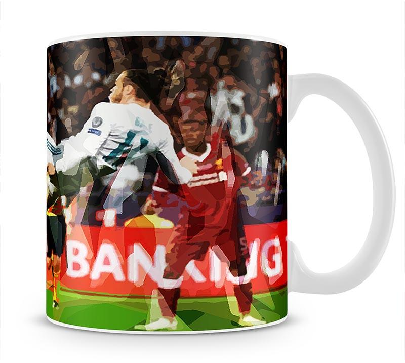 Gareth Bale Overhead Kick Mug - Canvas Art Rocks - 1