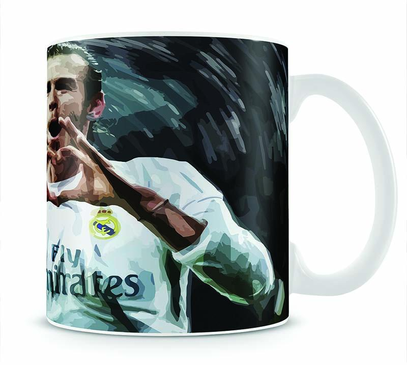 Gareth Bale Real Madrid Mug - Canvas Art Rocks - 1