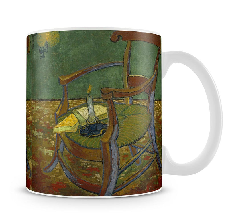 Gauguins chair by Van Gogh Mug - Canvas Art Rocks - 4