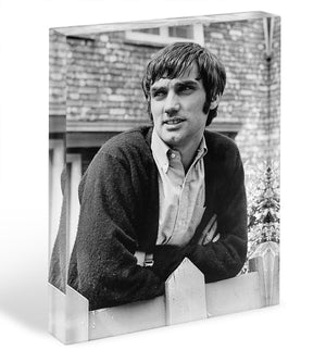George Best in 1968 Acrylic Block - Canvas Art Rocks - 1