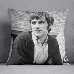 George Best in 1968 Cushion - Canvas Art Rocks - 1