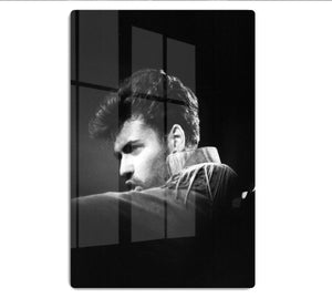 George Michael in 1986 HD Metal Print - Canvas Art Rocks - 1