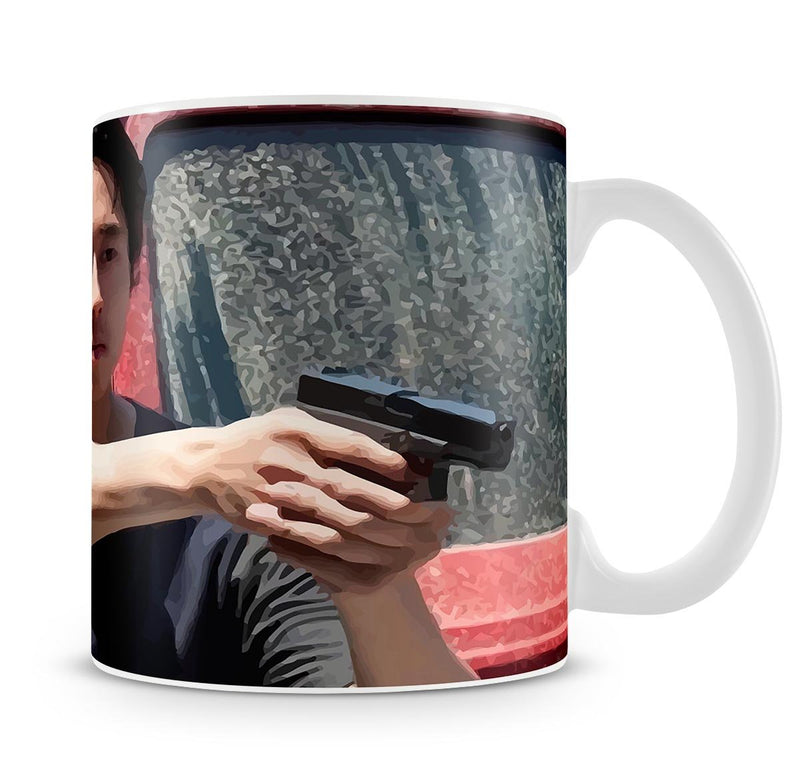 Glenn The Walking Dead Mug - Canvas Art Rocks - 4