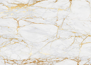 Golden Marble Wall Mural Wallpaper