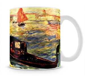 Gondola on the Canale Grande by Renoir Mug - Canvas Art Rocks - 1