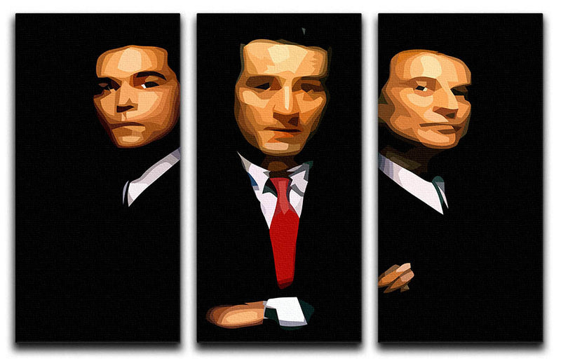 Goodfellas 3 Split Panel Canvas Print - Canvas Art Rocks