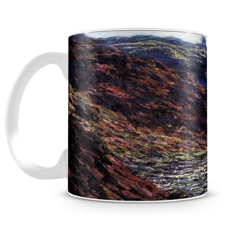 Gorge of the Petite Creuse by Monet Mug - Canvas Art Rocks - 4