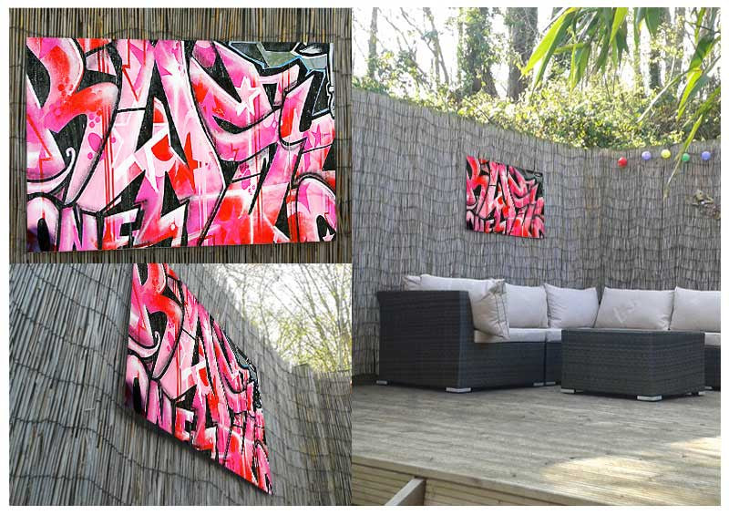 Urban Graffiti Metal Print - Canvas Art Rocks - 2