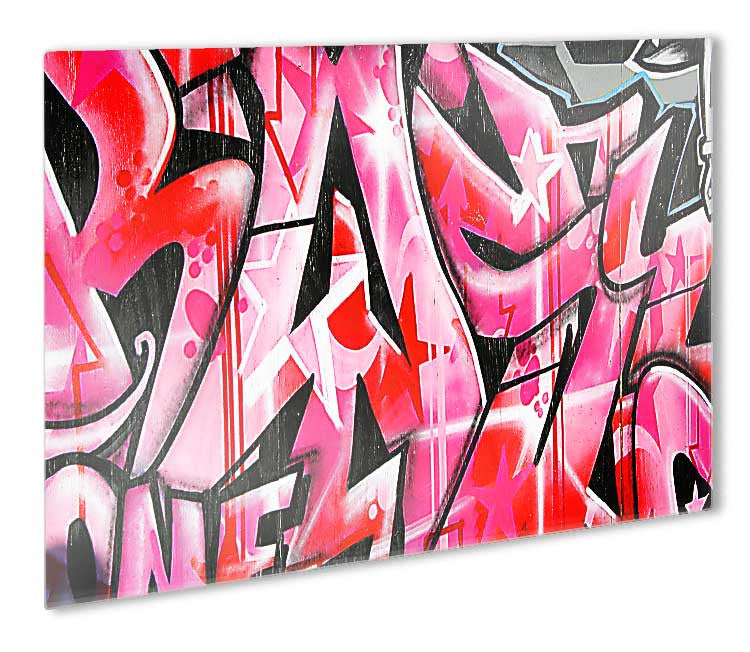 Urban Graffiti Metal Print - Canvas Art Rocks - 1