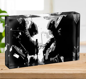 Gravity Movie Acrylic Block - Canvas Art Rocks - 2