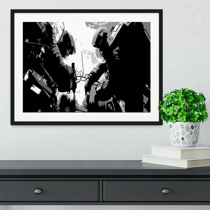 Gravity Movie Framed Print - Canvas Art Rocks - 1