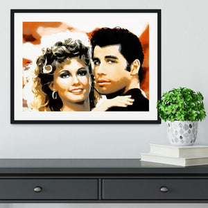 Grease Framed Print - Canvas Art Rocks - 1