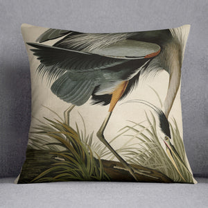 Great blue Heron by Audubon Cushion