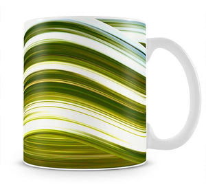 Green Wave Mug - Canvas Art Rocks - 1