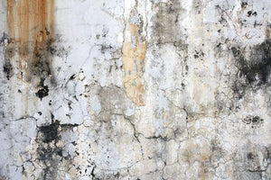 Grunge cracked wall Wall Mural Wallpaper - Canvas Art Rocks - 1