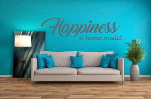 Happiness Wall Sticker - Canvas Art Rocks - 1