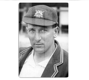 Harold Larwood, cricketer HD Metal Print - Canvas Art Rocks - 1