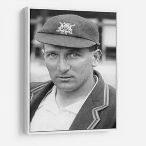 Harold Larwood, cricketer HD Metal Print - Canvas Art Rocks - 7