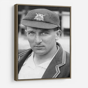 Harold Larwood, cricketer HD Metal Print - Canvas Art Rocks - 10