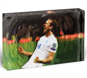 Harry Kane England Acrylic Block - Canvas Art Rocks - 1