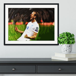 Harry Kane England Framed Print - Canvas Art Rocks - 1