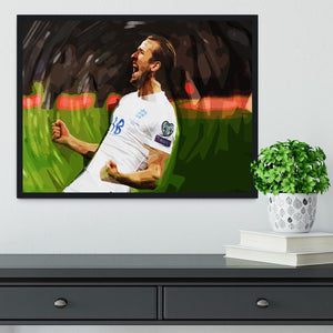 Harry Kane England Framed Print - Canvas Art Rocks - 2
