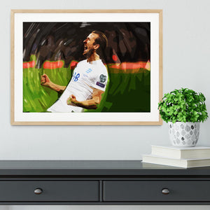 Harry Kane England Framed Print - Canvas Art Rocks - 3