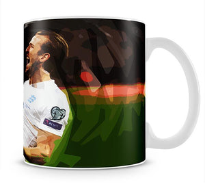 Harry Kane England Mug - Canvas Art Rocks - 1