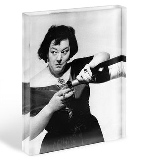 Hattie Jacques Acrylic Block - Canvas Art Rocks - 1