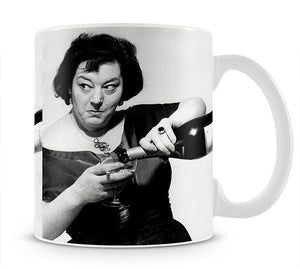 Hattie Jacques Mug - Canvas Art Rocks - 1