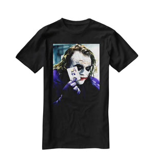 Heath Ledger The Joker T-Shirt - Canvas Art Rocks - 1
