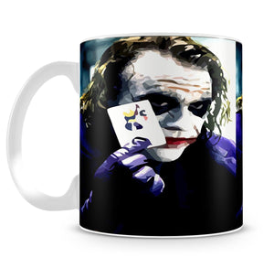 Heath Ledger The Joker Mug - Canvas Art Rocks - 4