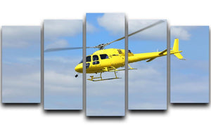 Helicopter rescue 5 Split Panel Canvas  - Canvas Art Rocks - 1