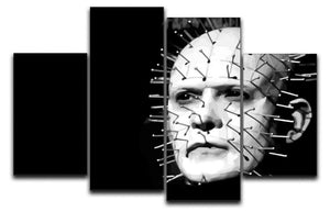 Hellraiser Pinhead 4 Split Panel Canvas  - Canvas Art Rocks - 1